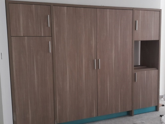 Installed 105 mini kitchens at Shamal Residence Building in Dubai