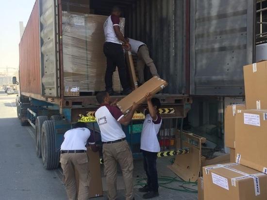Delivered 105 mini kitchens at Shamal Residence Building in Dubai