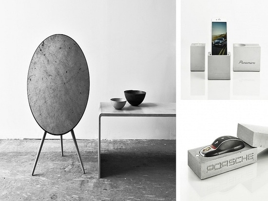 Bang & Olufsen (left), Porsche (bottom right), Panamera (top right). Courtesy of Gravelli