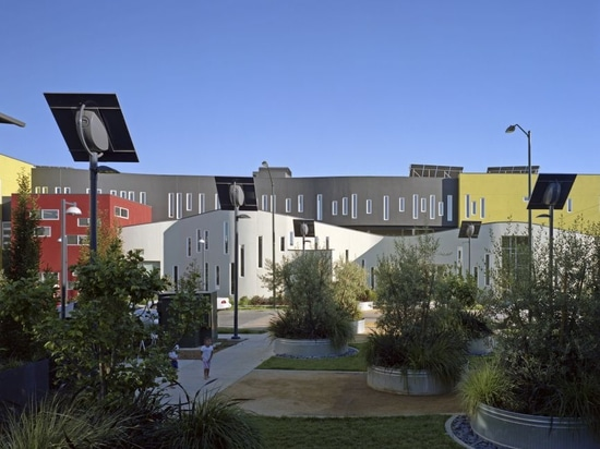 A housing project by David Baker Architects