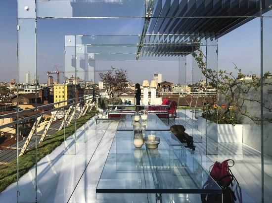IMPERTEK - Terrazza Santambrogio Milano - outdoor raised floor