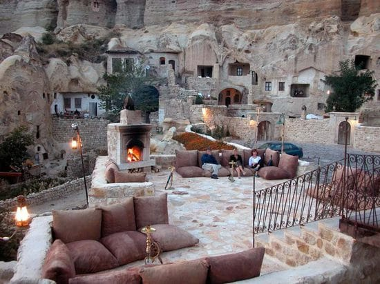 Yunak Evleri is a 5-star hotel built into ancient Turkish caves