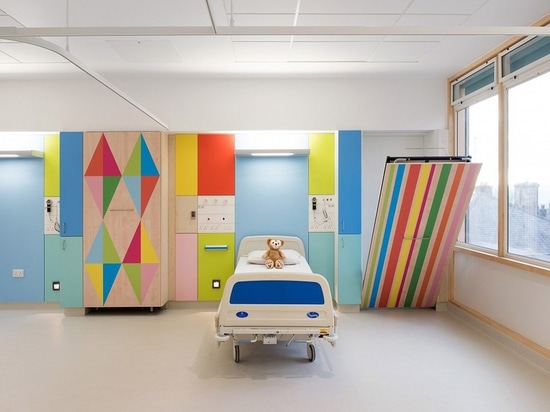 Interior Design Spotlight: Morag Myerscough brightens the wards of Sheffield Children's Hospital