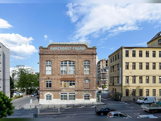 Anker bread factory in Vienna