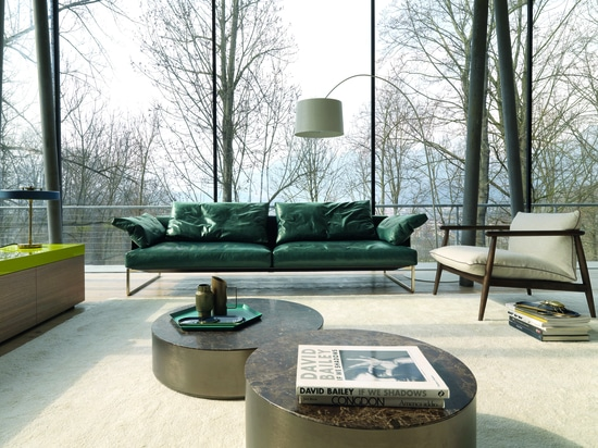 ARLON, A COLLECTION OF SOFT, AIRY AND ELEGANT SOFAS  AND STORAGE UNITS