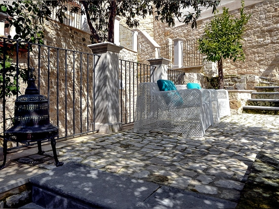 GLOW-IN BY DÉSIRÉE CHOSEN FOR HORTUS RESIDENCE, MODICA