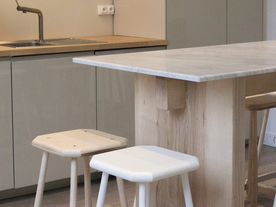 Gustave Stool and Table