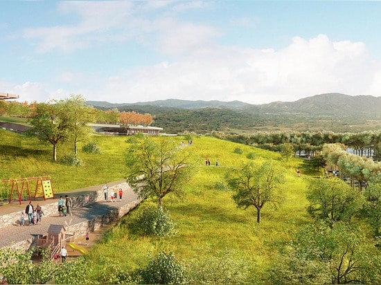 RAFAEL VIÑOLY UNVEILS PLANS FOR THE WORLD'S LARGEST GREEN ROOF