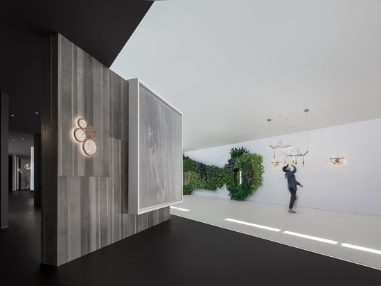 Encounter a beam of light in design