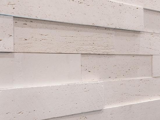 New Tivoli wall cladding