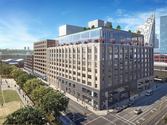 Rafael Viñoly unveils renovation and extension for art-deco car showrooms in New York