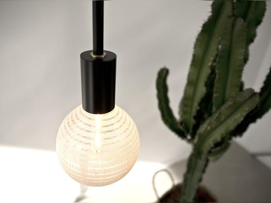 MASCARA brass pendant lamp