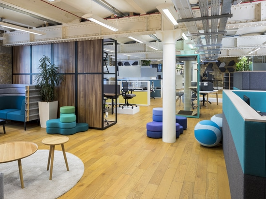 Refreshed showroom in London