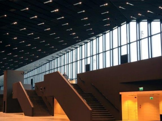 THE INTERNATIONAL CONFERENCE CENTRE BUILDING, KATOWICE