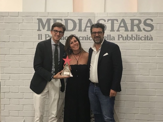 from the left: Davide Ferracin, Lapitec Marketing Manager, Elena Borella, Creative Director of Gruppo icat and Claudio Capovilla, President of Gruppo icat.