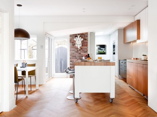 Falken Reynolds fuses contemporary and historic details at Hemlock Street townhouse