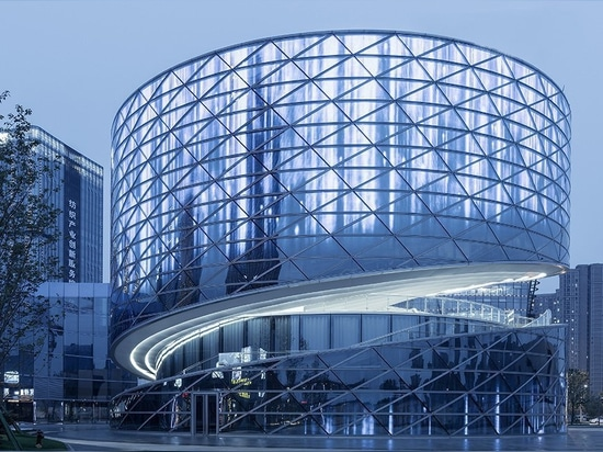 ATAH's spiral china textile center references woven fabric