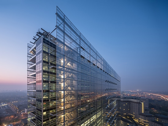 jean nouvel inaugurates new european patent office in the netherlands