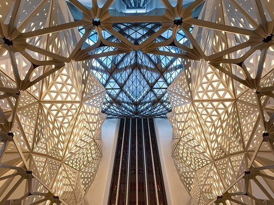 zaha hadid architects opens morpheus hotel as part of macau's city of dreams resort