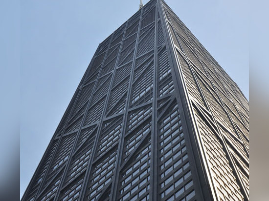John Hancock by SOM, another of the 10 projects that sum up Chicago's architectural history