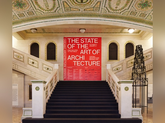 The Chicago Architecture Biennial opened earlier this month at the Chicago Cultural Center