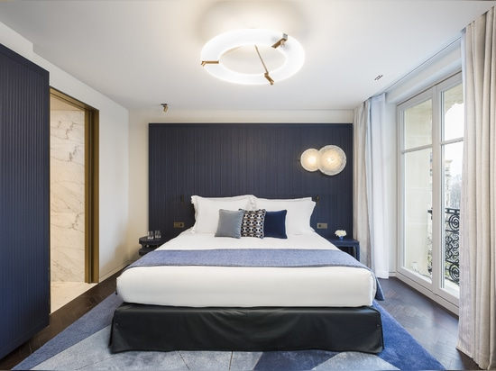 A new iconic project for Lema Contract that has signed off the furnishings of the rooms at the historic Parisian luxury Hotel Lutetia, that has been completely renovated following a project by Jean...