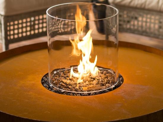 Custmized Gas Outdoor Fireplace - Galio Fire Pit Corten