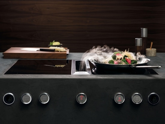 BORA INDUCTION GLASS CERAMIC WOK COOKTOP - A PERFECT TASTE OF THE FAR EAST
