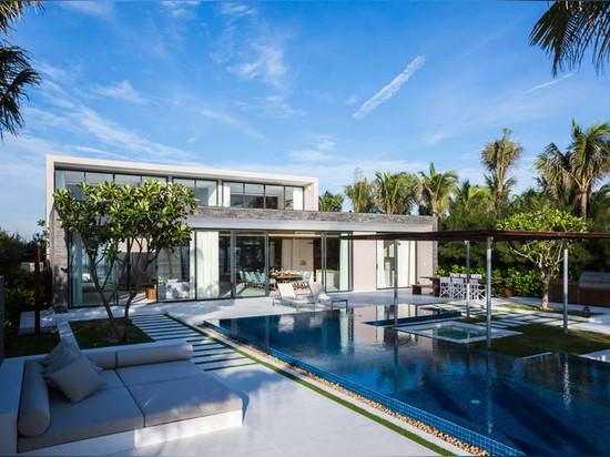 MIA design studio sites luxury villas along the coast of vietnam