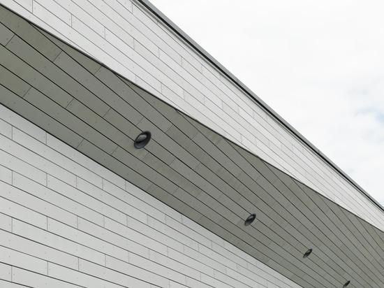Glassfibre reinforced concrete facade