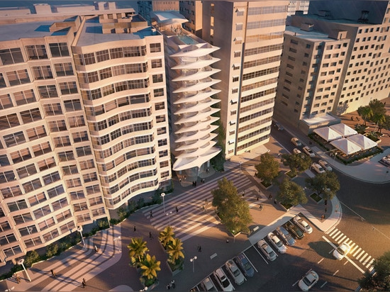Zaha Hadid's first Brazilian building designed for Copacabana Beach