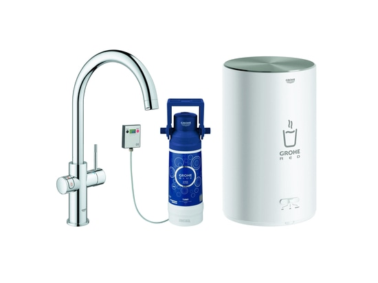 GROHE Red Duo Faucet and M size boiler by GROHE
