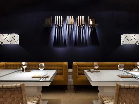 """""""Urban Blue"""" Restaurant"""