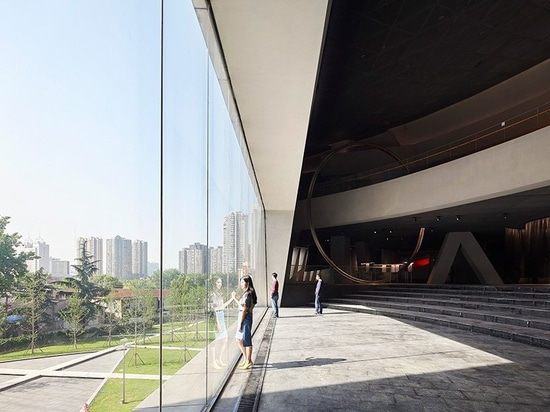 daniel libeskind's first project in china is a sweeping ark-like museum in wuhan
