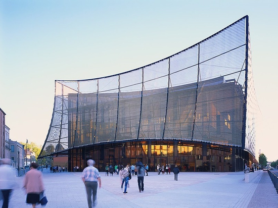 ALBI GRAND THEATER BY DOMINIQUE PERRAULT ARCHITECTURE