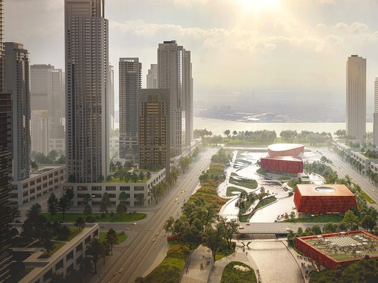 Powerhouse Company And Benthem Crouwel Architects Unveil Proposal For Asian Games Athlete Village