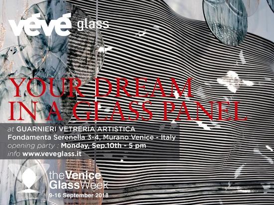 VéVé Glass at The Venice Glass Week – from 09 to 16 september 2018
