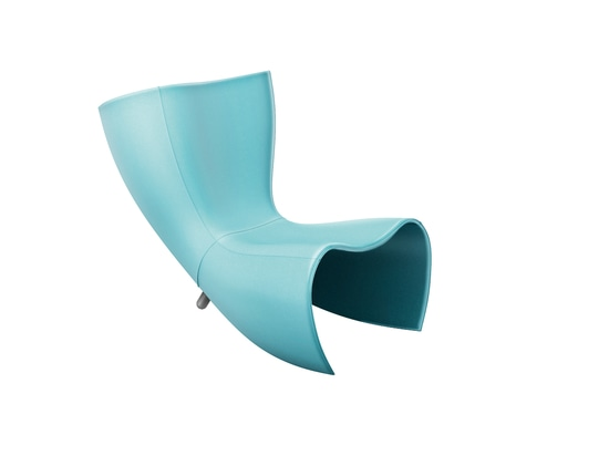 The iconic fiberglass Felt Chair by Marc Newson turns 25