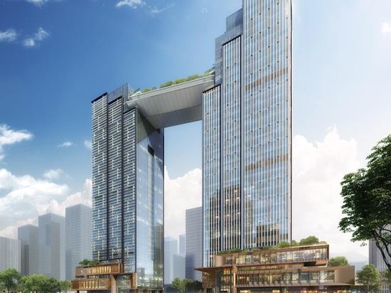 10 DESIGN | Huabang International Centre