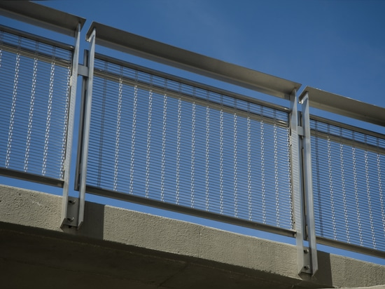 Balustrades with Architectural Mesh