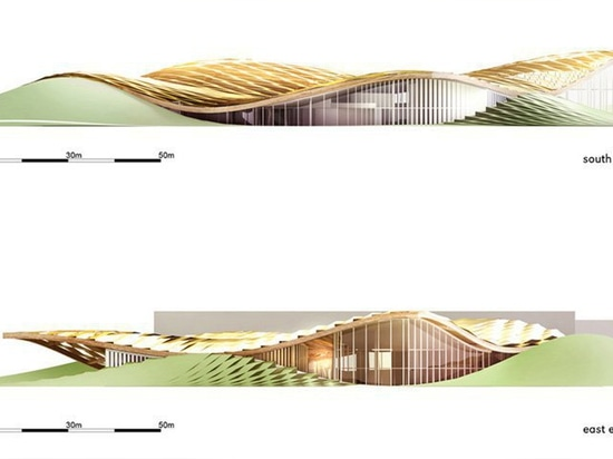 open architecture systems unveils plans for solar-powered barilla pavilion in parma