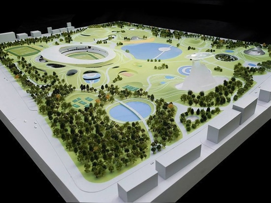 construction work begins on MAD architects' sports campus in quzhou, china