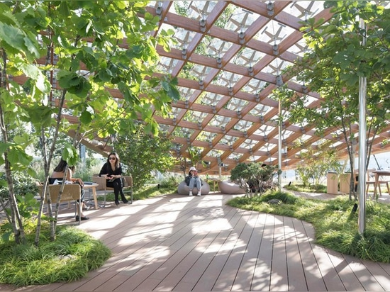 MAD proposes 'living garden' as home of the future at china house vision 2018