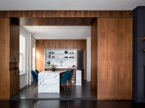 Attn Attn renovates Lenox Hill Residence for graphic designer