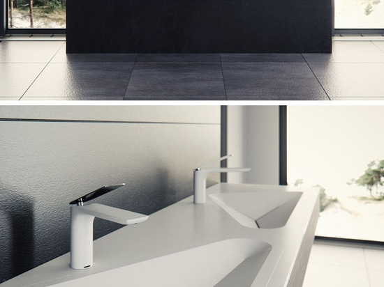 The Monolit Bathroom Sink By Le Projet Was Inspired By Everyday Shapes Found In An Urban Environment