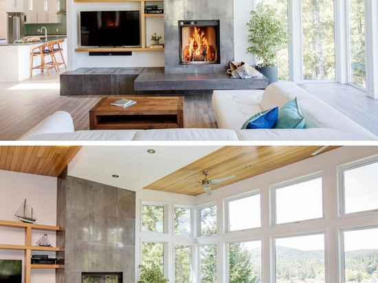 The Cliff House by ONE SEED Architecture + Interiors