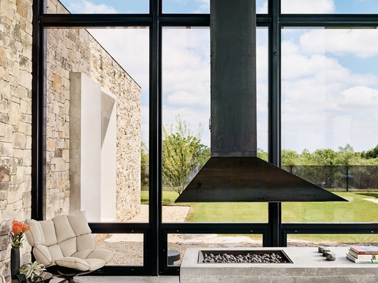 This New Home Uses Materials That Complement The Landscape