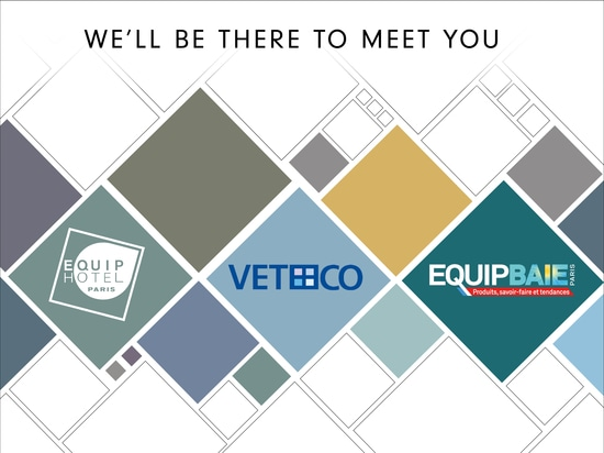 European November for Corradi: we'll fly to EquipHotel, Veteco and EquipBaie