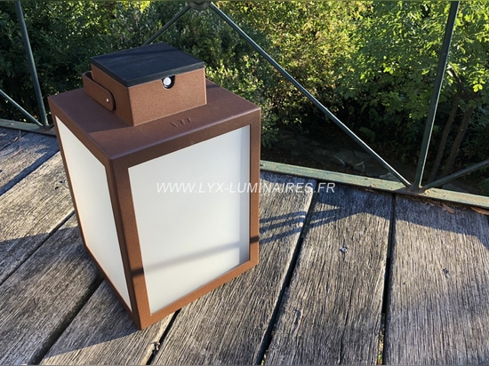 Solar lantern LAS 400/500/600 with frosted glass