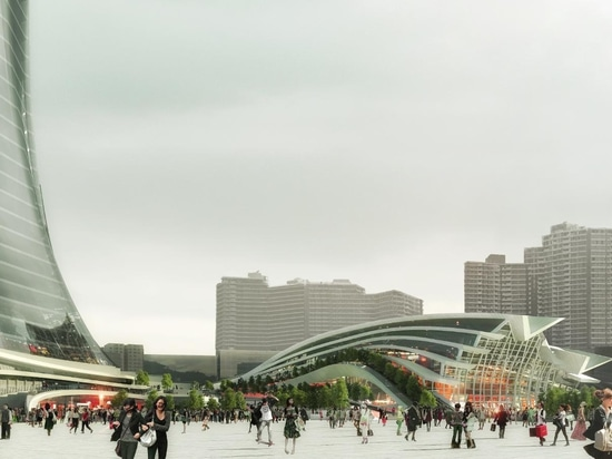 West Kowloon Station will be the Hong Kong terminus of mainland China's high-speed train network